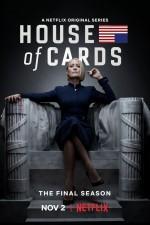 Постер Карточный домик 6 сезон