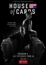 Постер Карточный домик 2 сезон