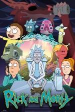 Постер Рик и Морти 4 сезон