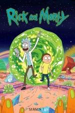Постер Рик и Морти 1 сезон
