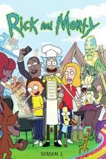 Постер Рик и Морти 2 сезон