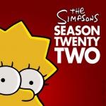 Постер Симпсоны 22 сезон