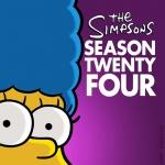Постер Симпсоны 24 сезон