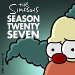 Постер Симпсоны 27 сезон