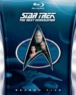 Постер Звездный путь: Следующее поколение 5 сезон